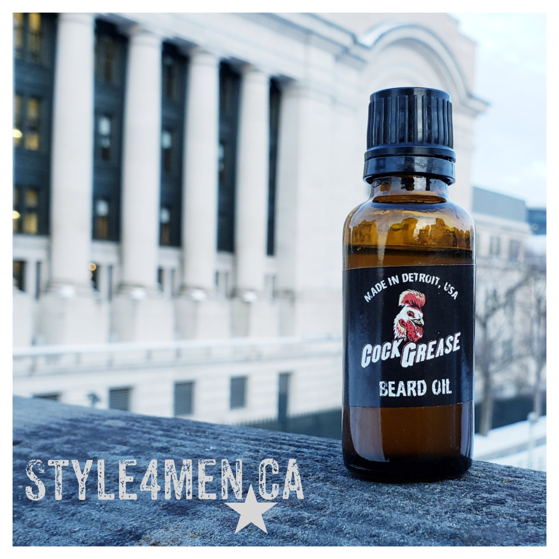 Beard oil by Cock Grease – Smooth, Quiet, Effecient