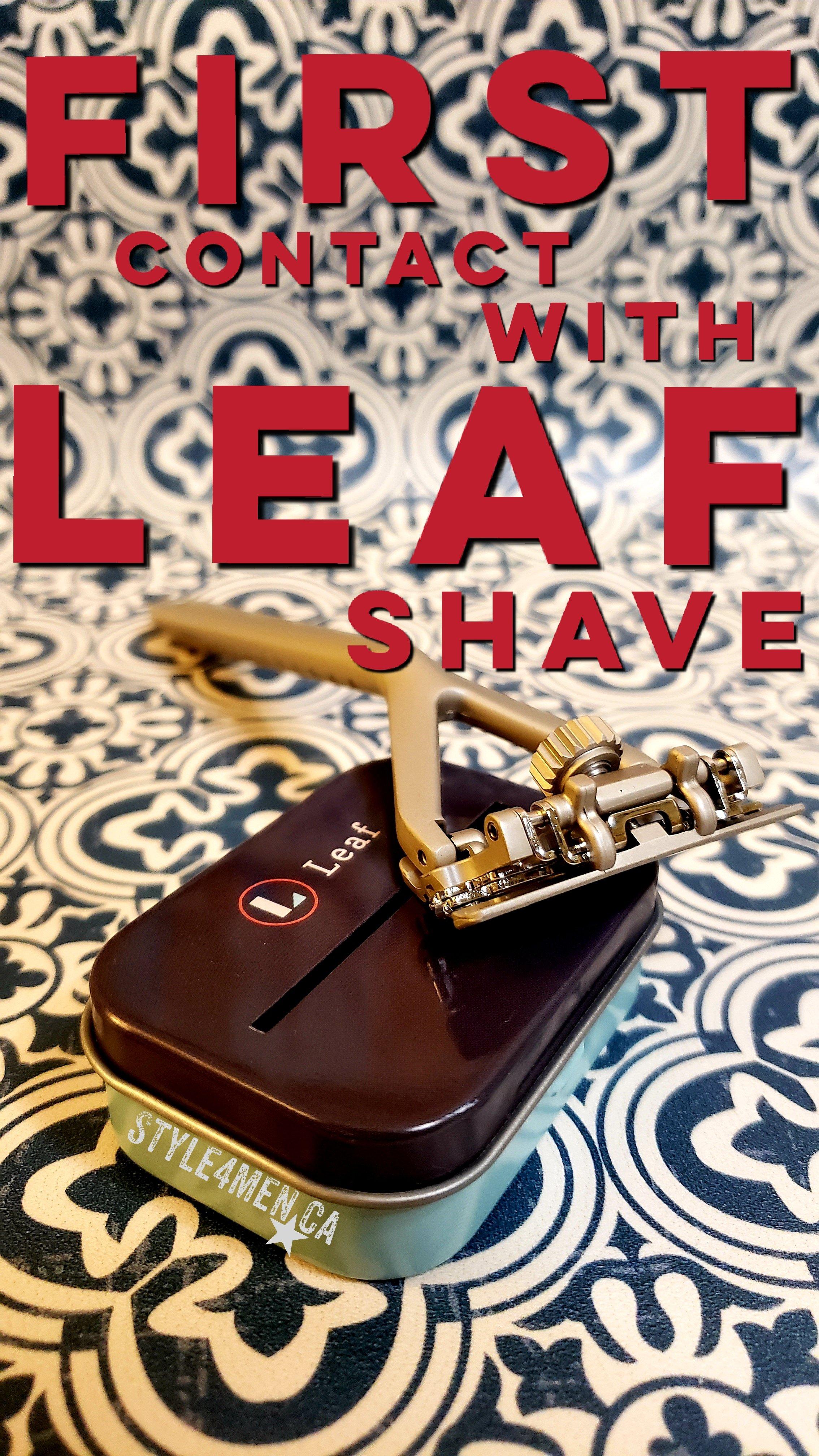 Leaf Shave Razor