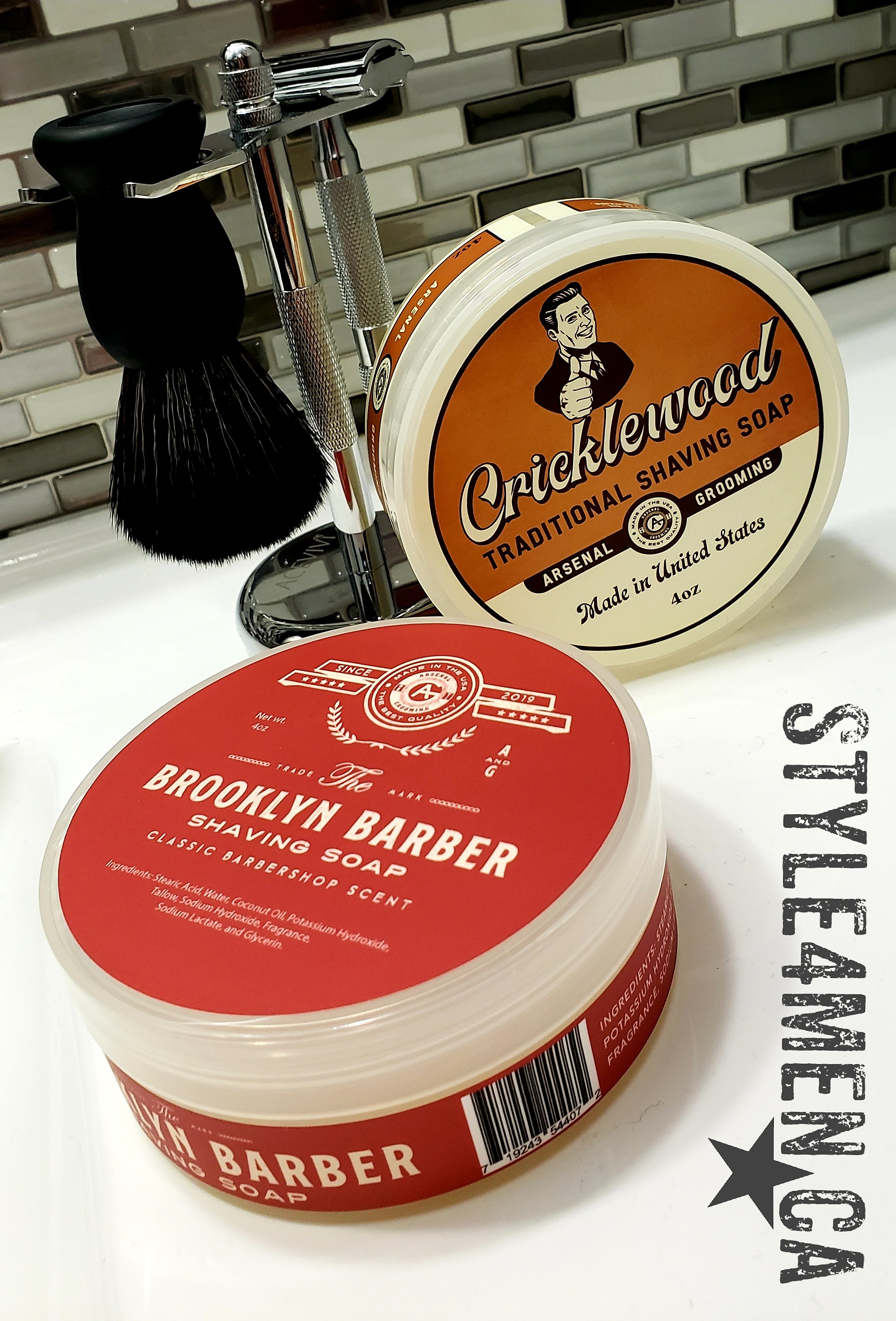 Traditional Shaving Soaps by Arsenal Grooming