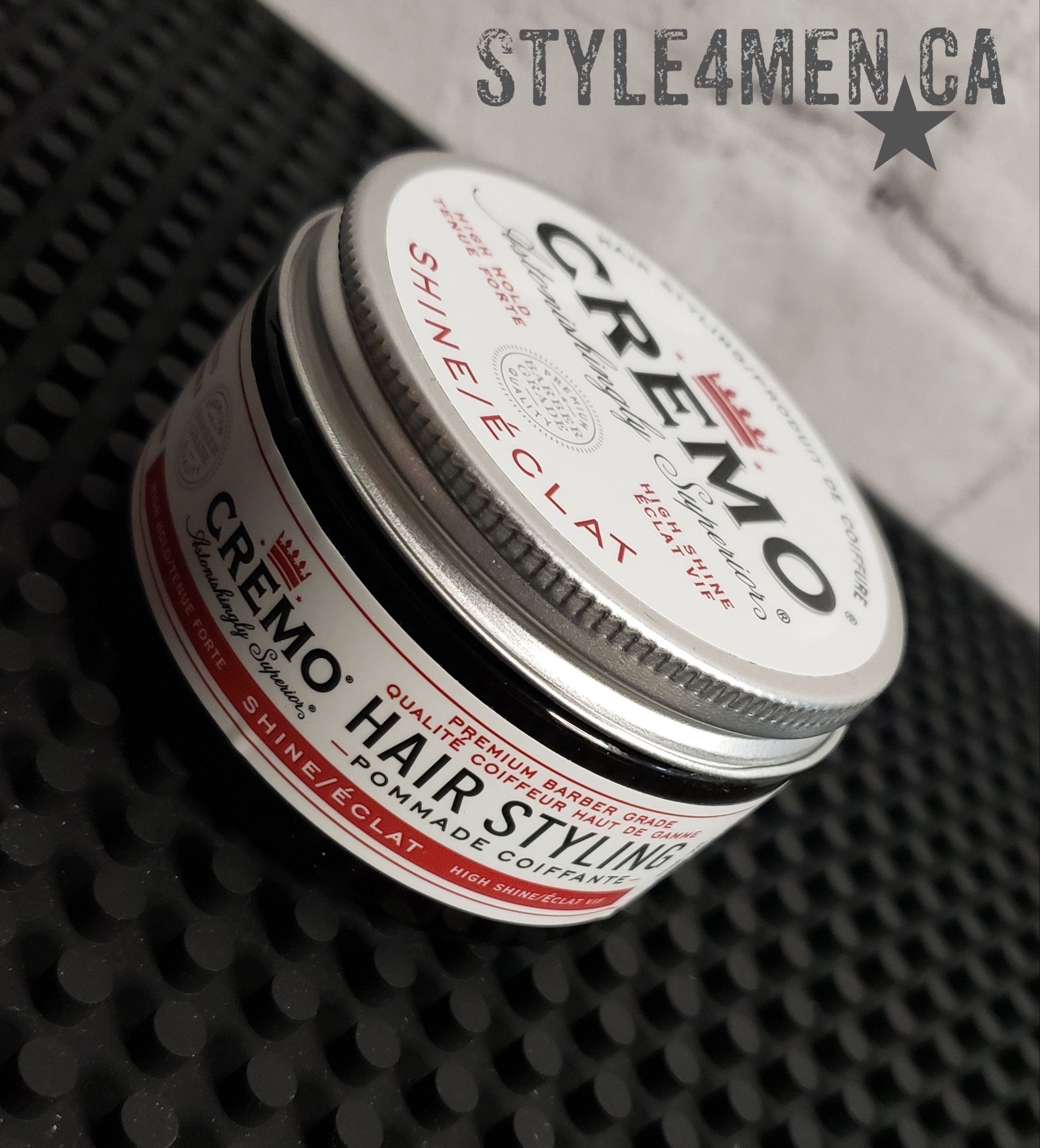 CREMO's Hair Styling Pomade