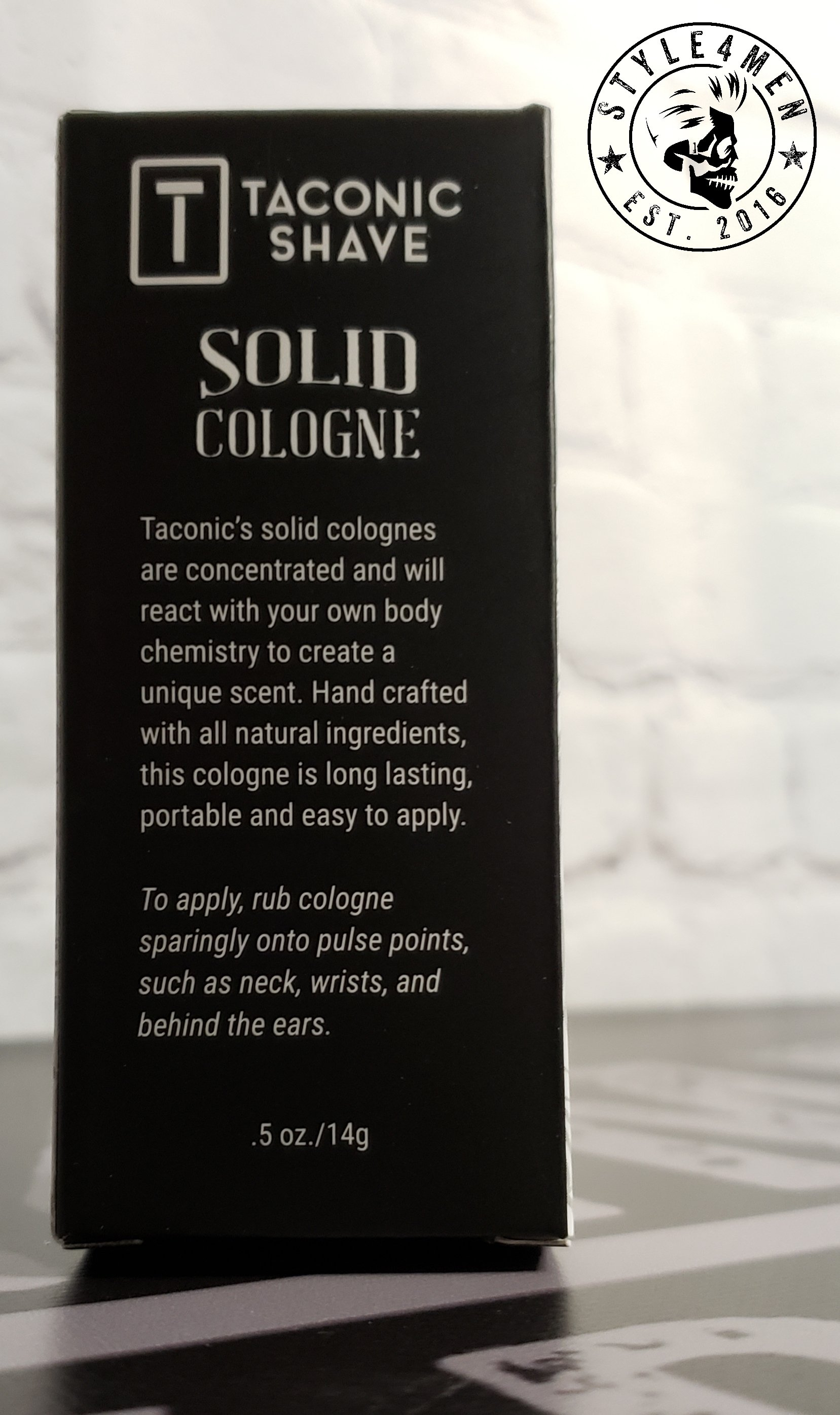 Taconic shave Solid Colognes