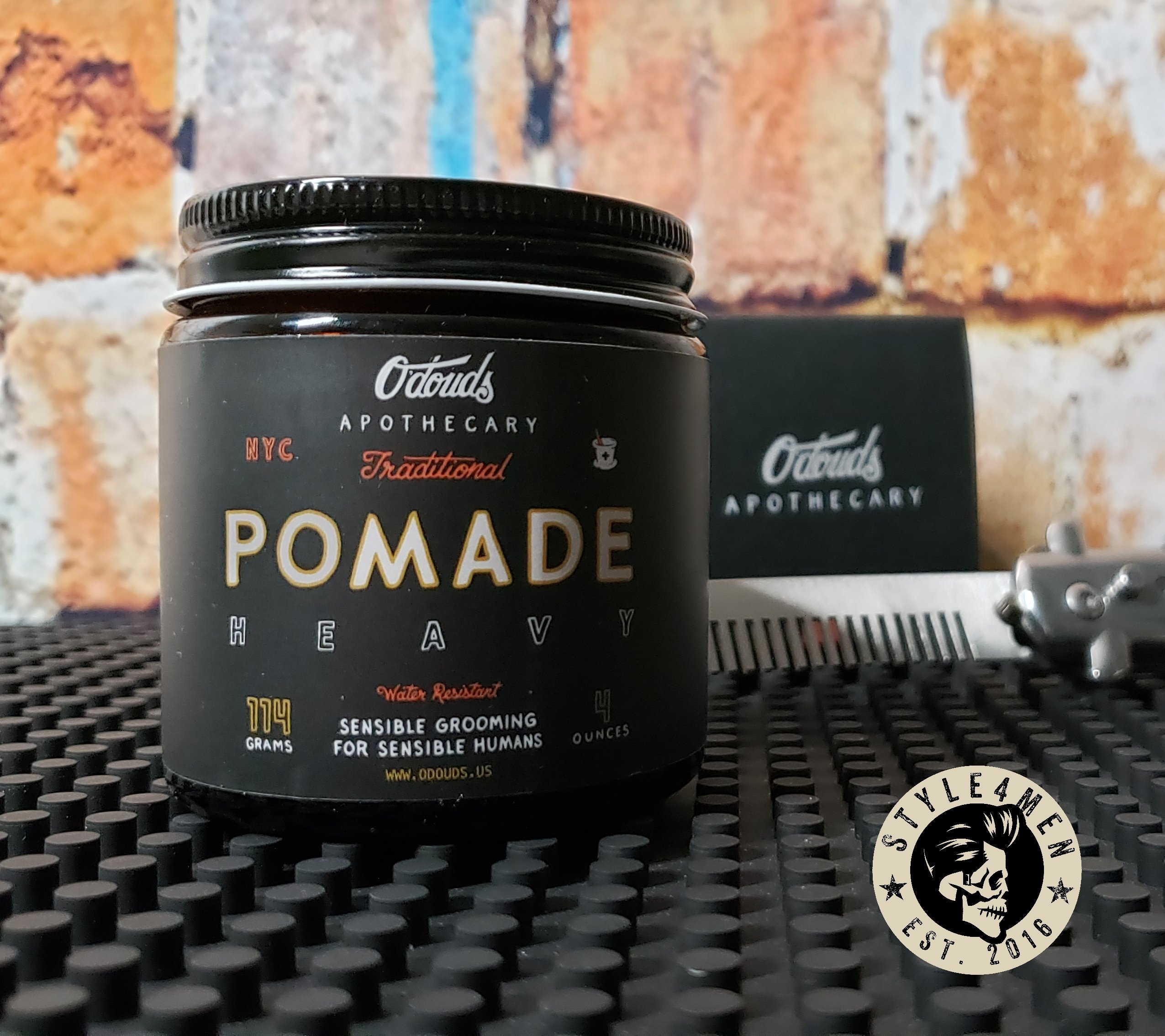 Trying out the O'douds Traditional Heavy Pomade