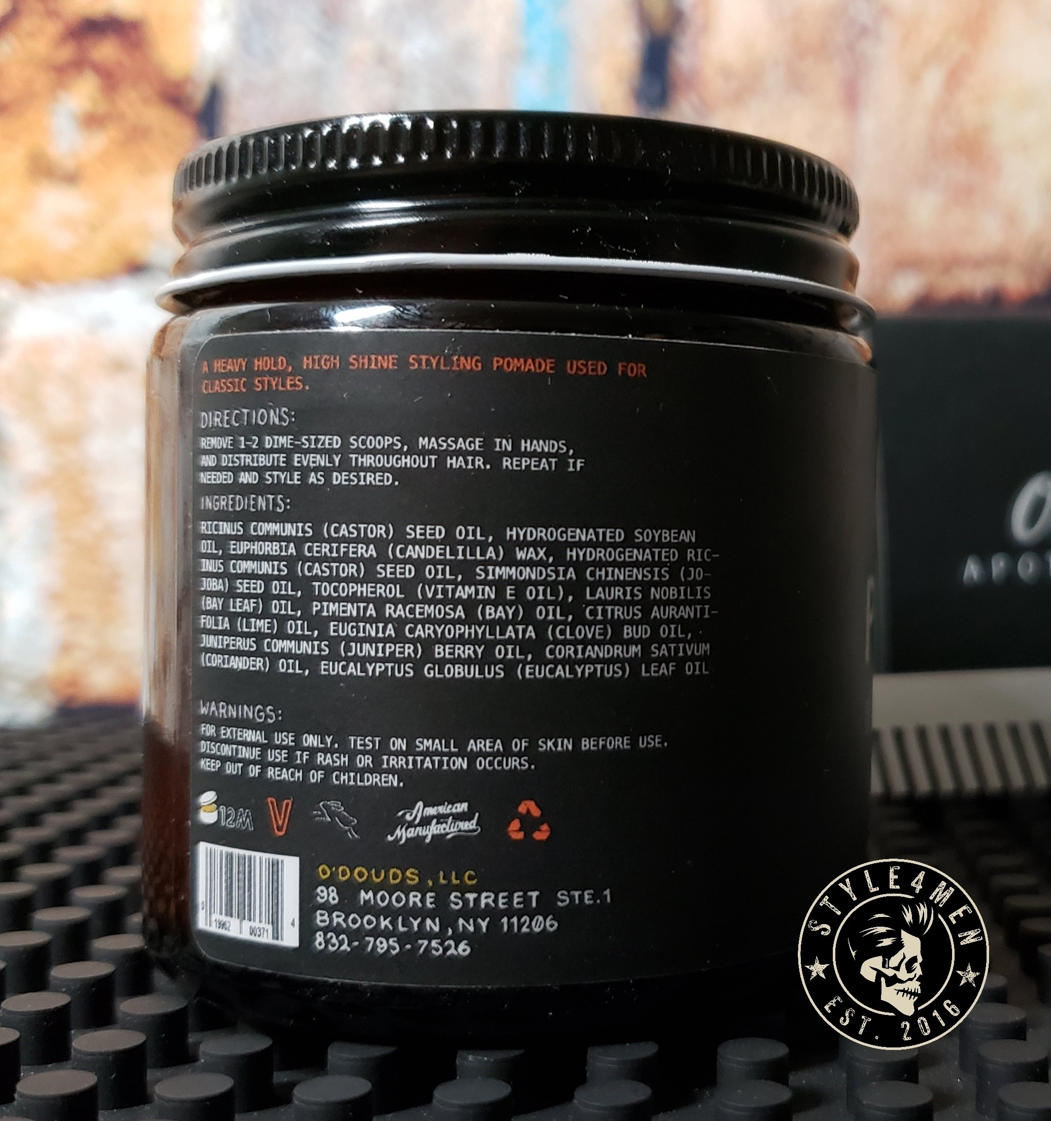 O'douds Heavy Pomade
