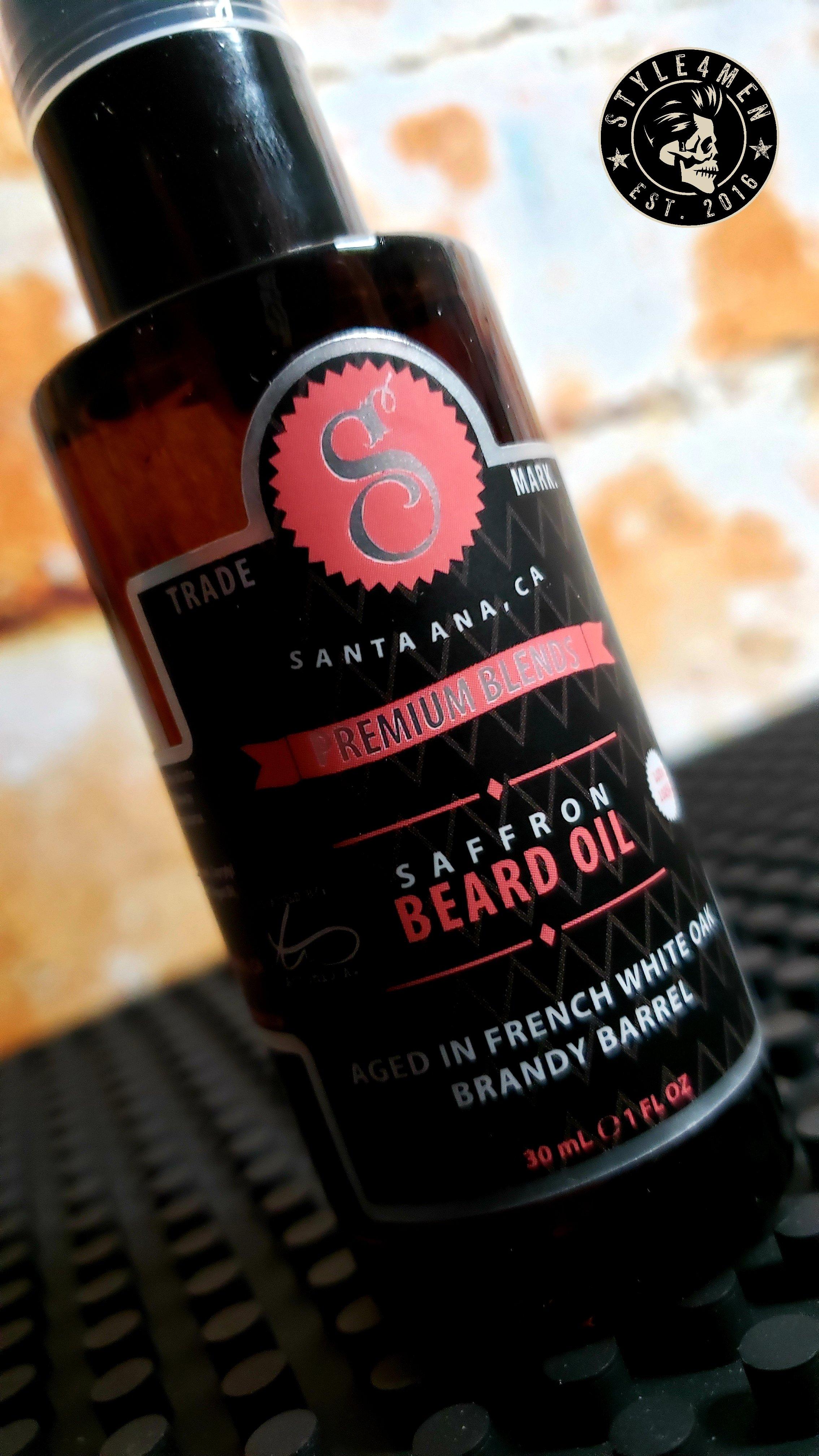 Saffron Beard Oil by Suavecito Premium