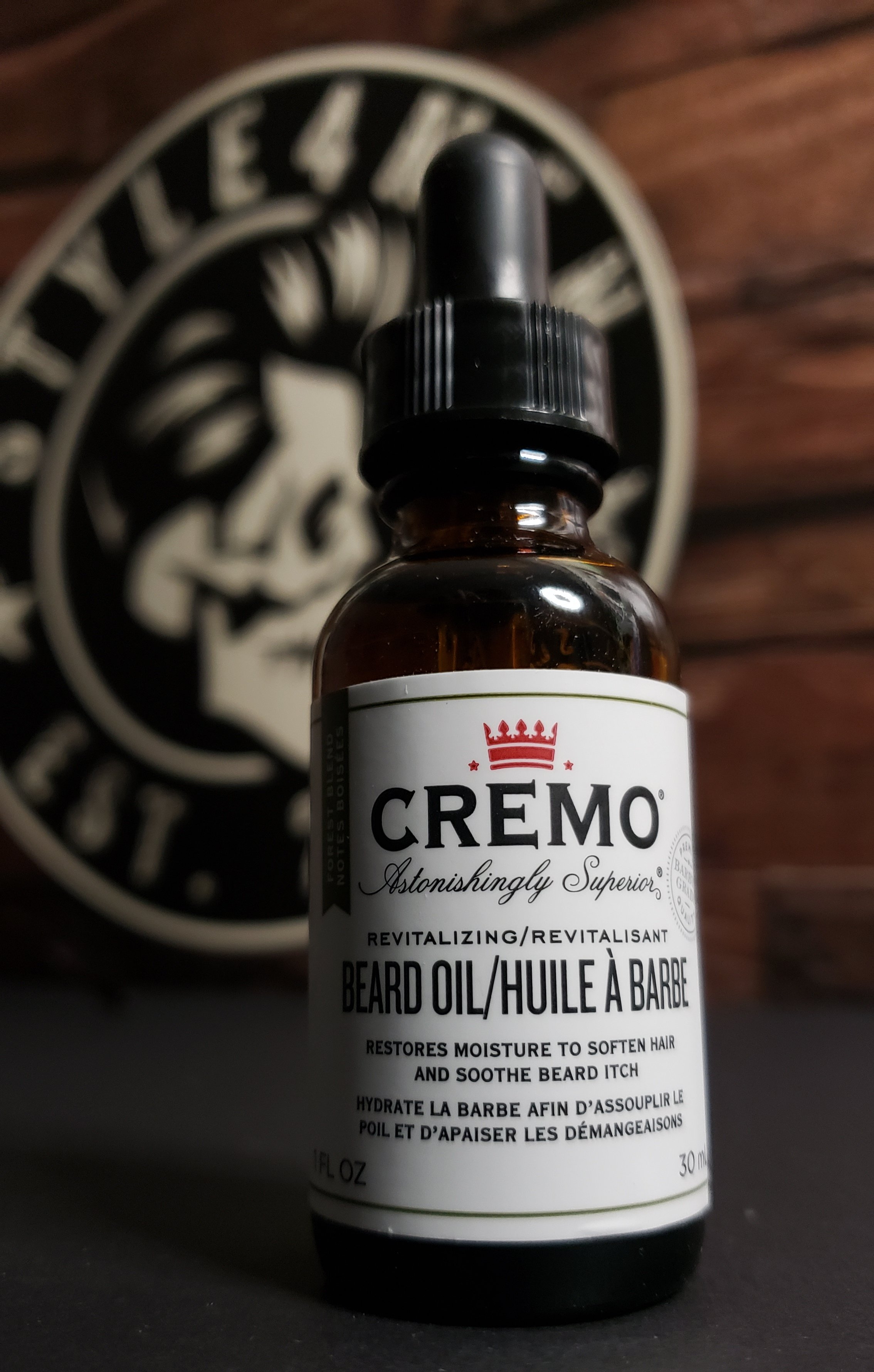 Beard Oil by CREMO (Forest Blend)