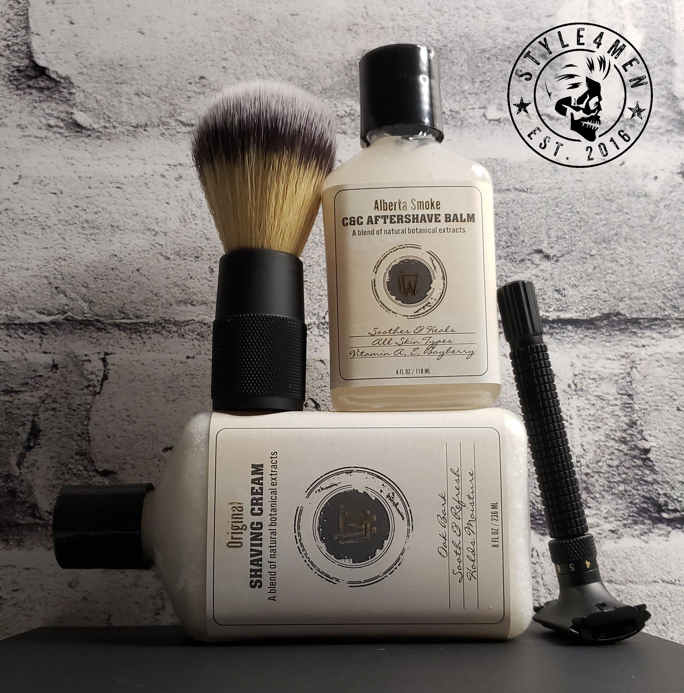 The Alberta Smoke Shave Kit by Chin-Whiskey