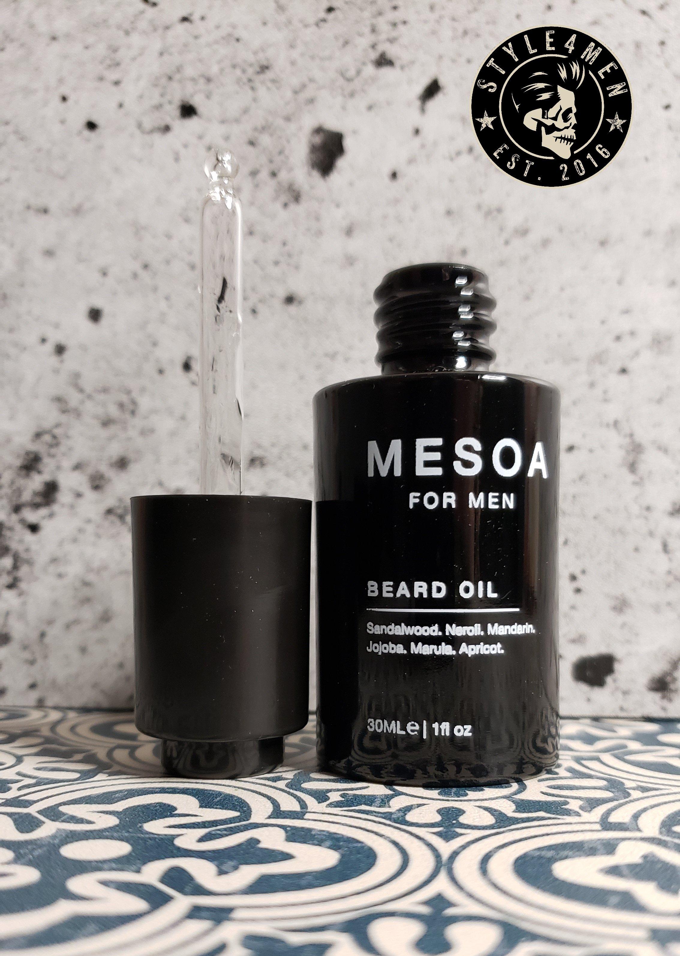 MESOA for Men Beard Oil