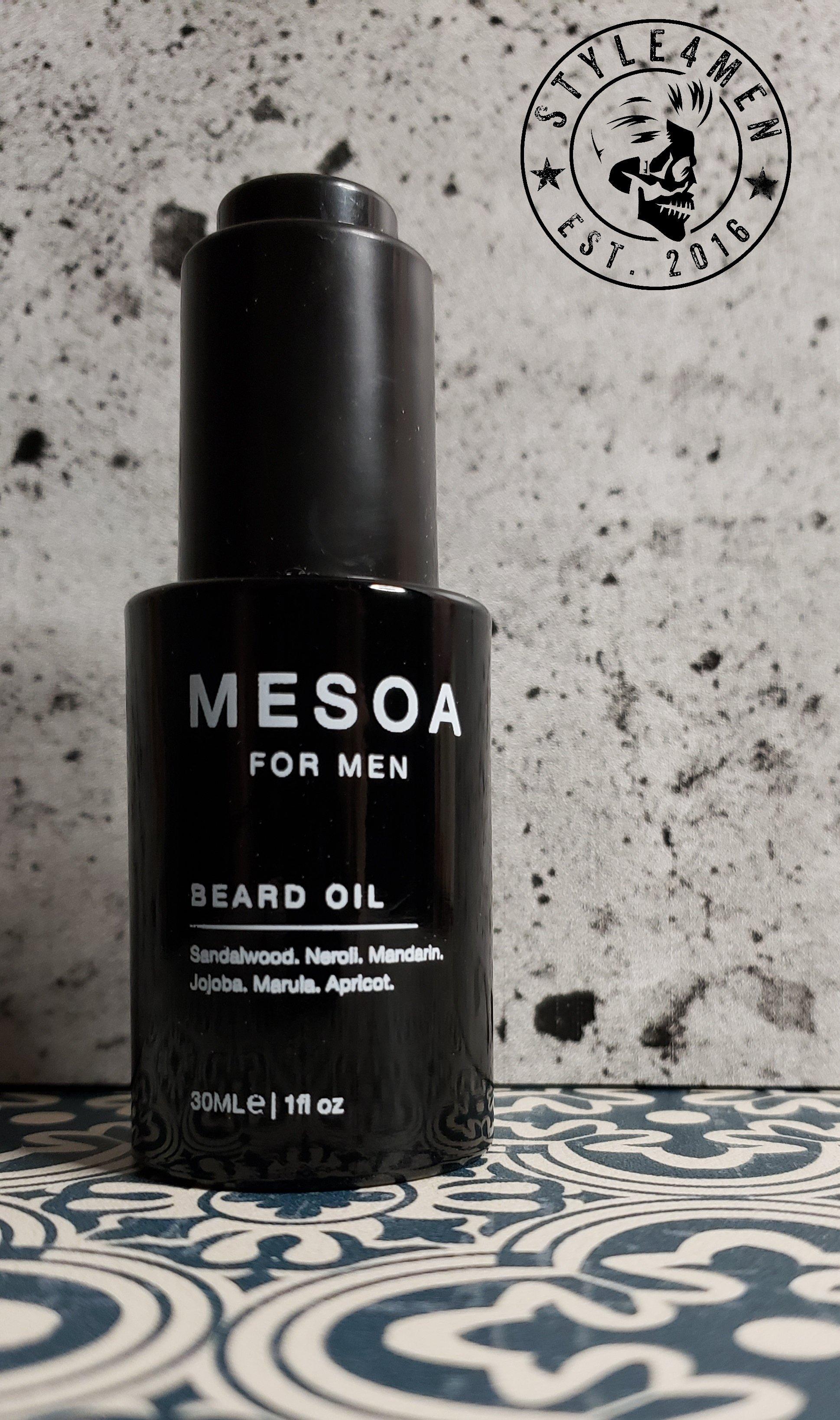 Beard oil by MESOA for Men