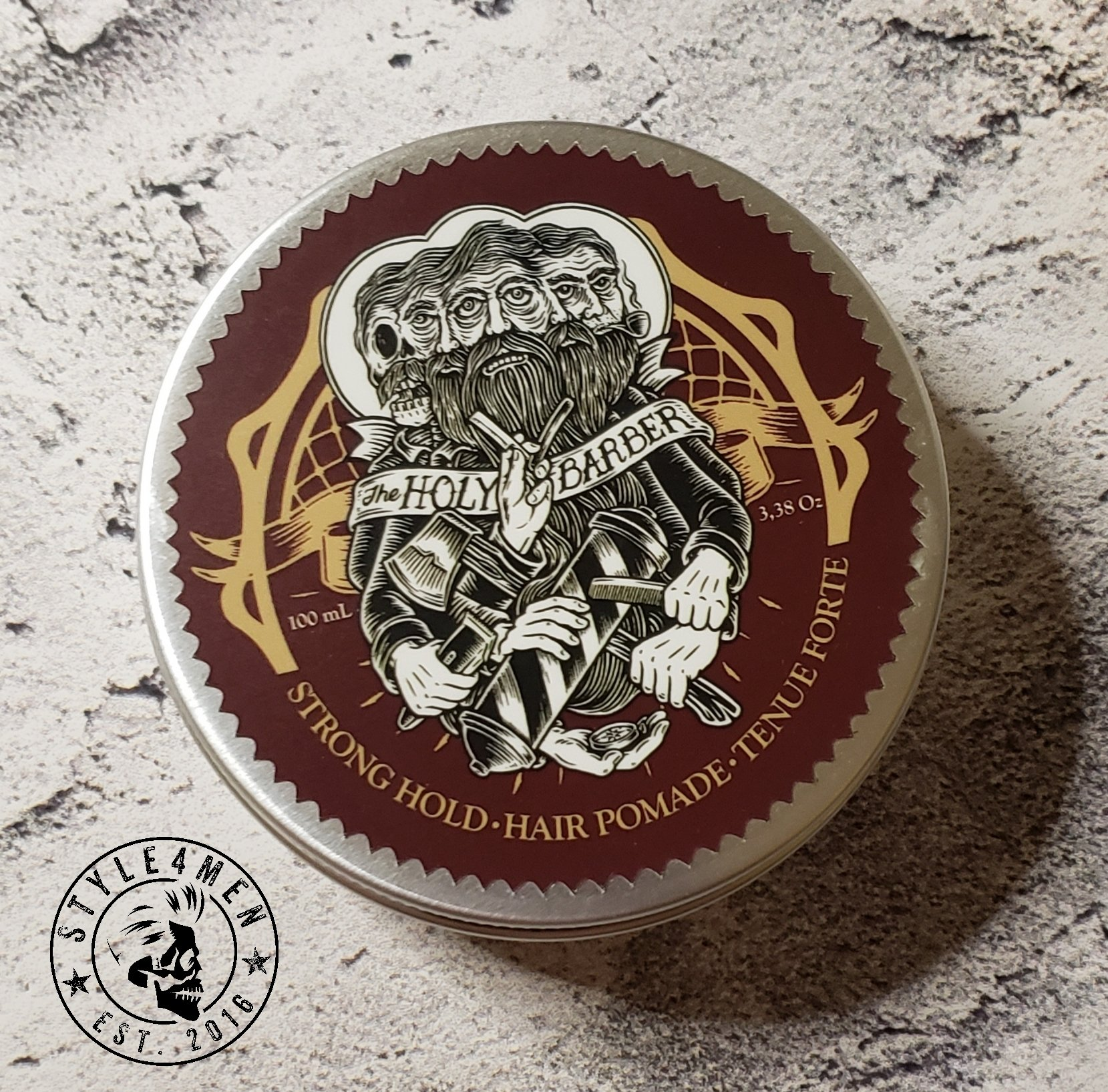 Hair Pomade by the Holy Barber