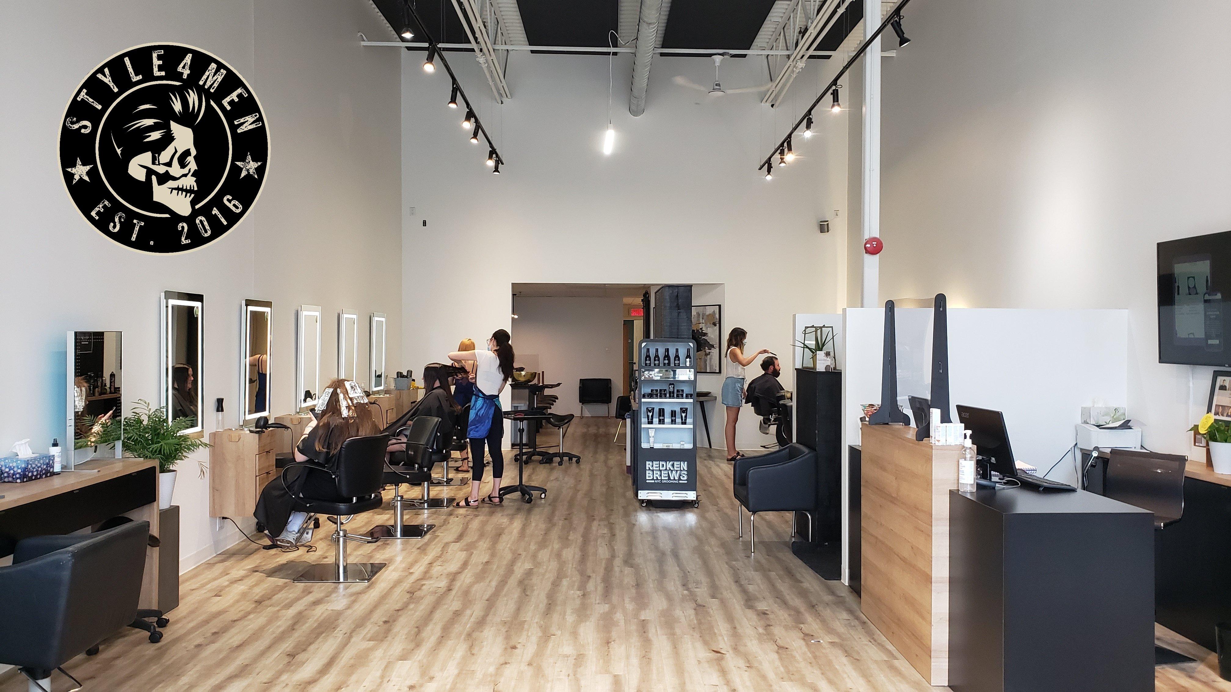 A haircut at Moustache et Koiffure
