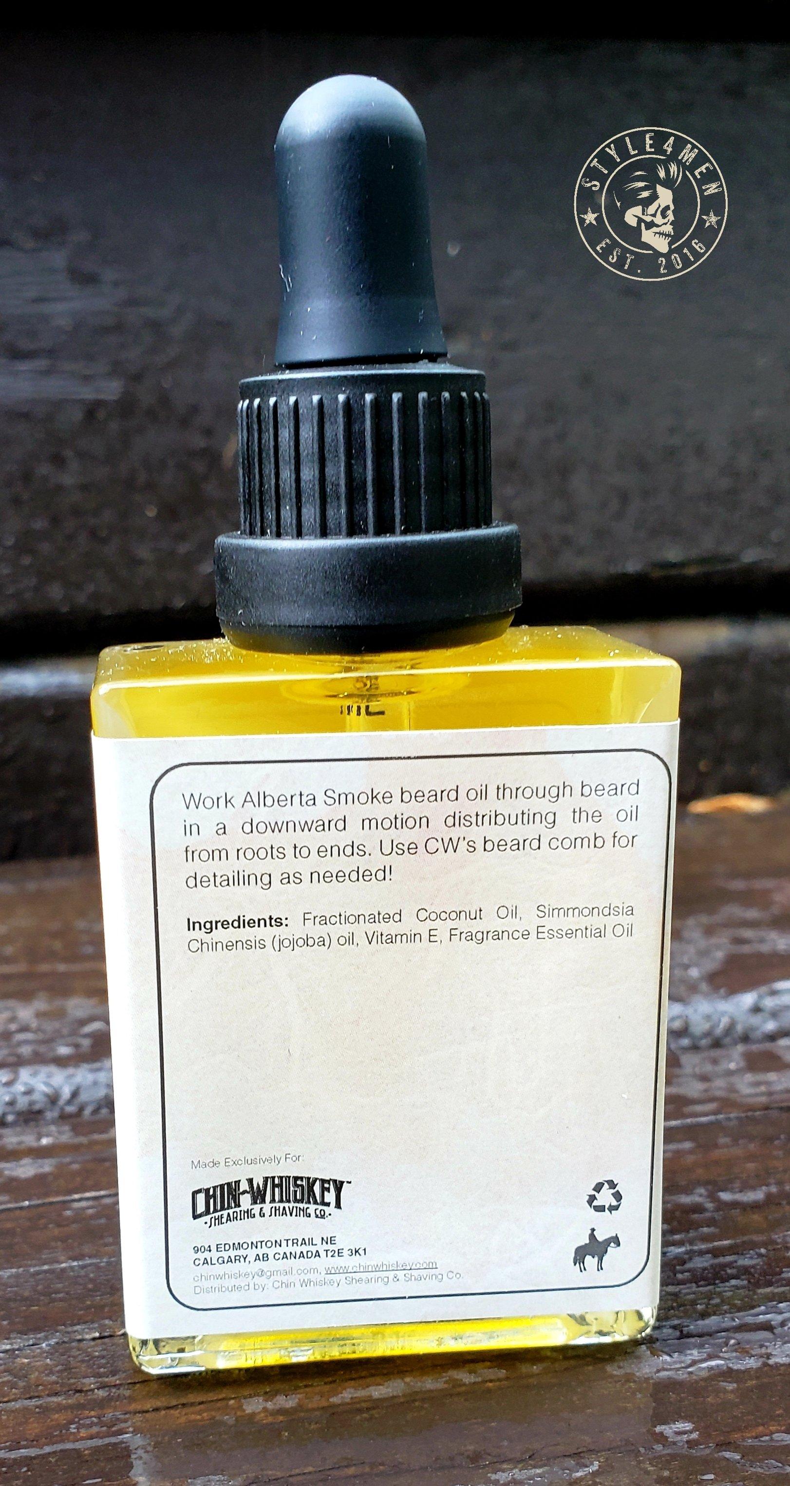 Chin Whiskey Beard Oil