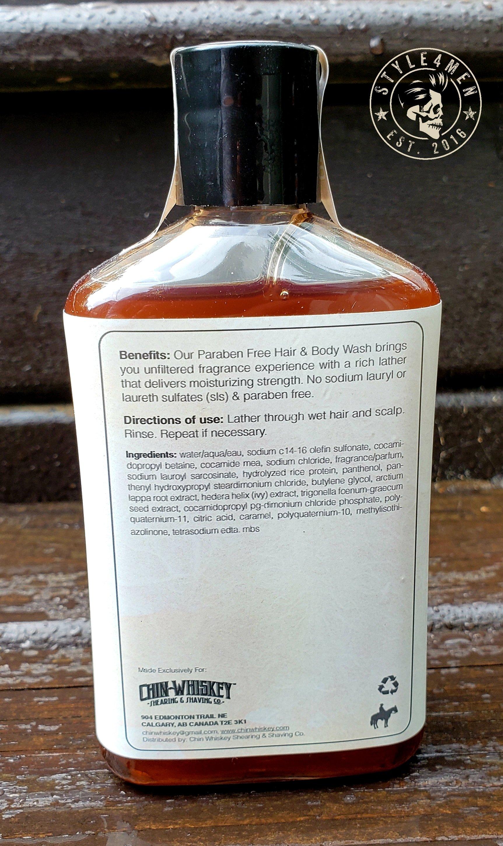 Chin Whiskey Shampoo/Body Wash