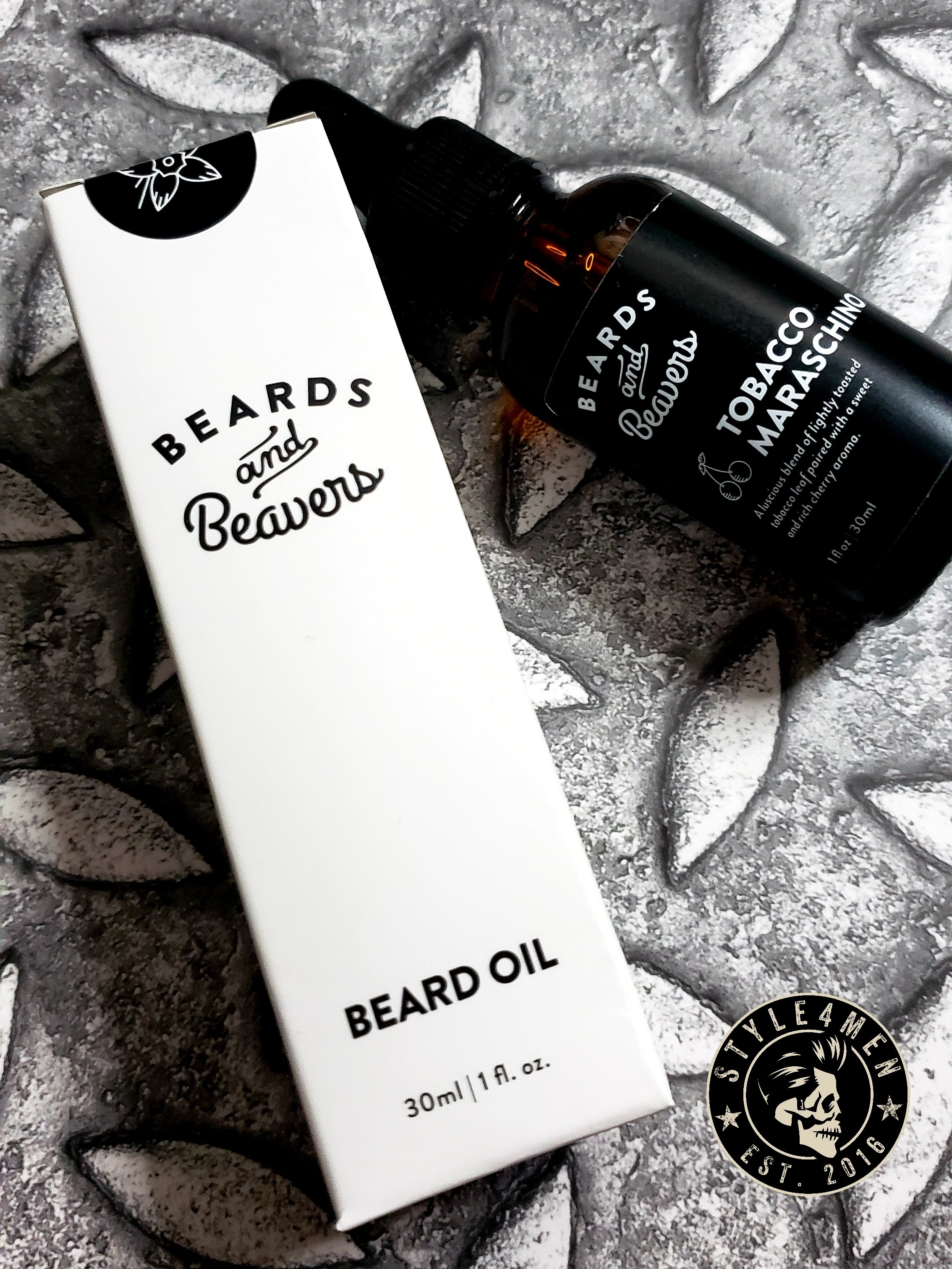 Beards and Beavers oil