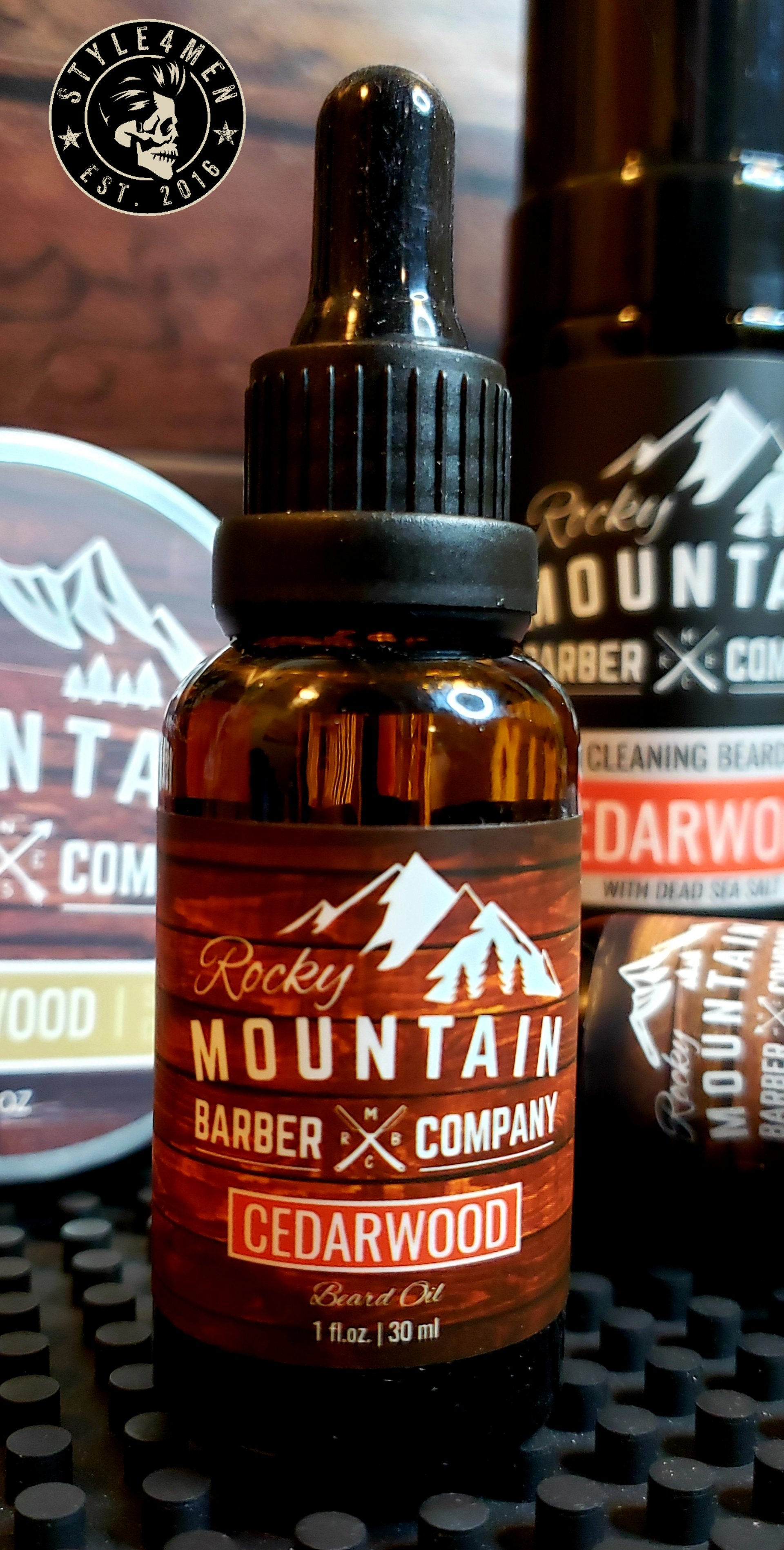 Rocky Mountain Beard Oil