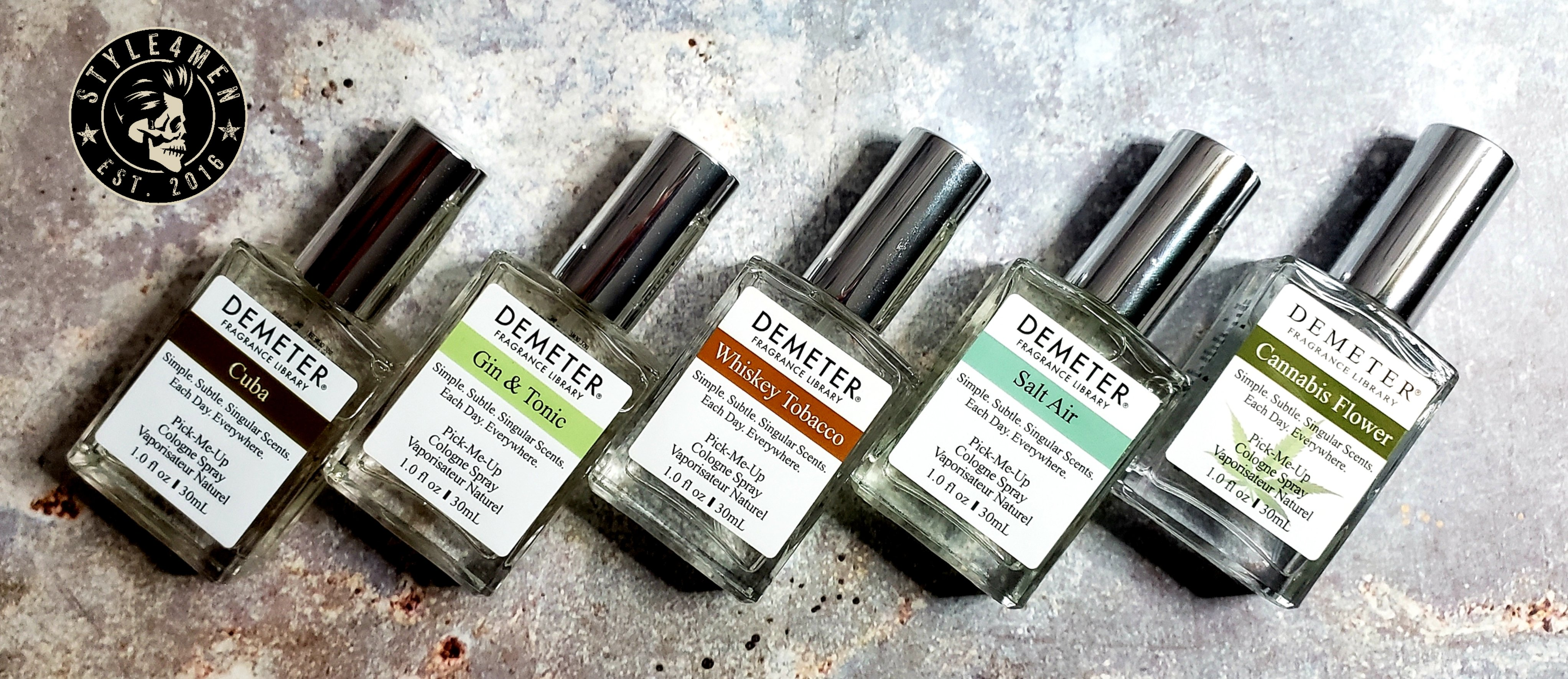 The amazing DEMETER Fragrance Library