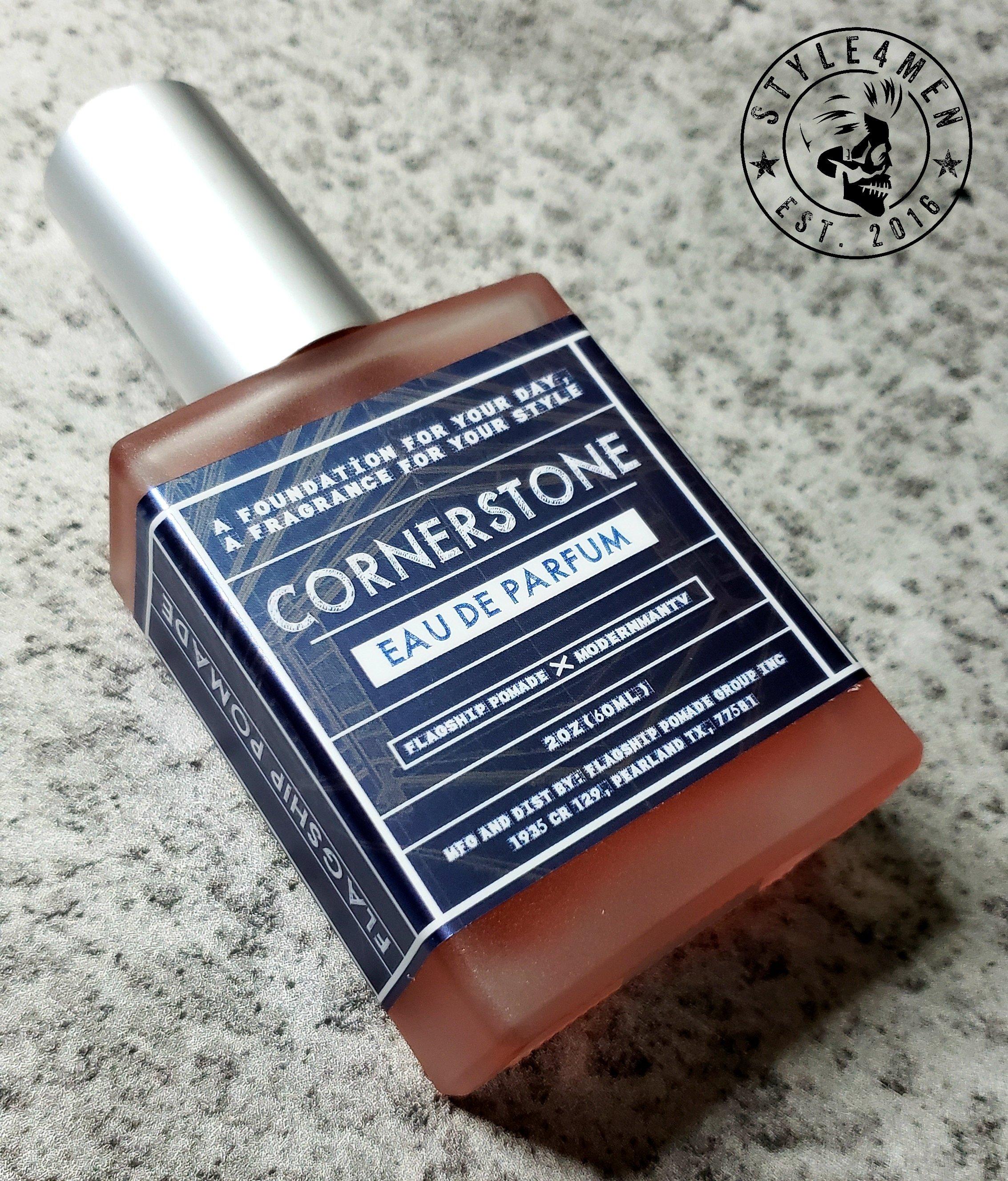 CORNERSTONE eau de parfum by Flagship Pomade & Modernman TV