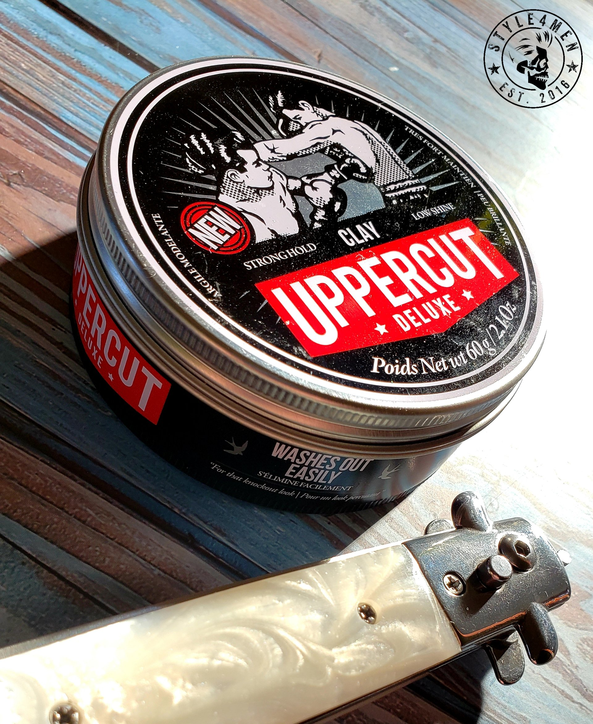 UPPERCUT DELUXE locks everything in place with its strong hold Clay
