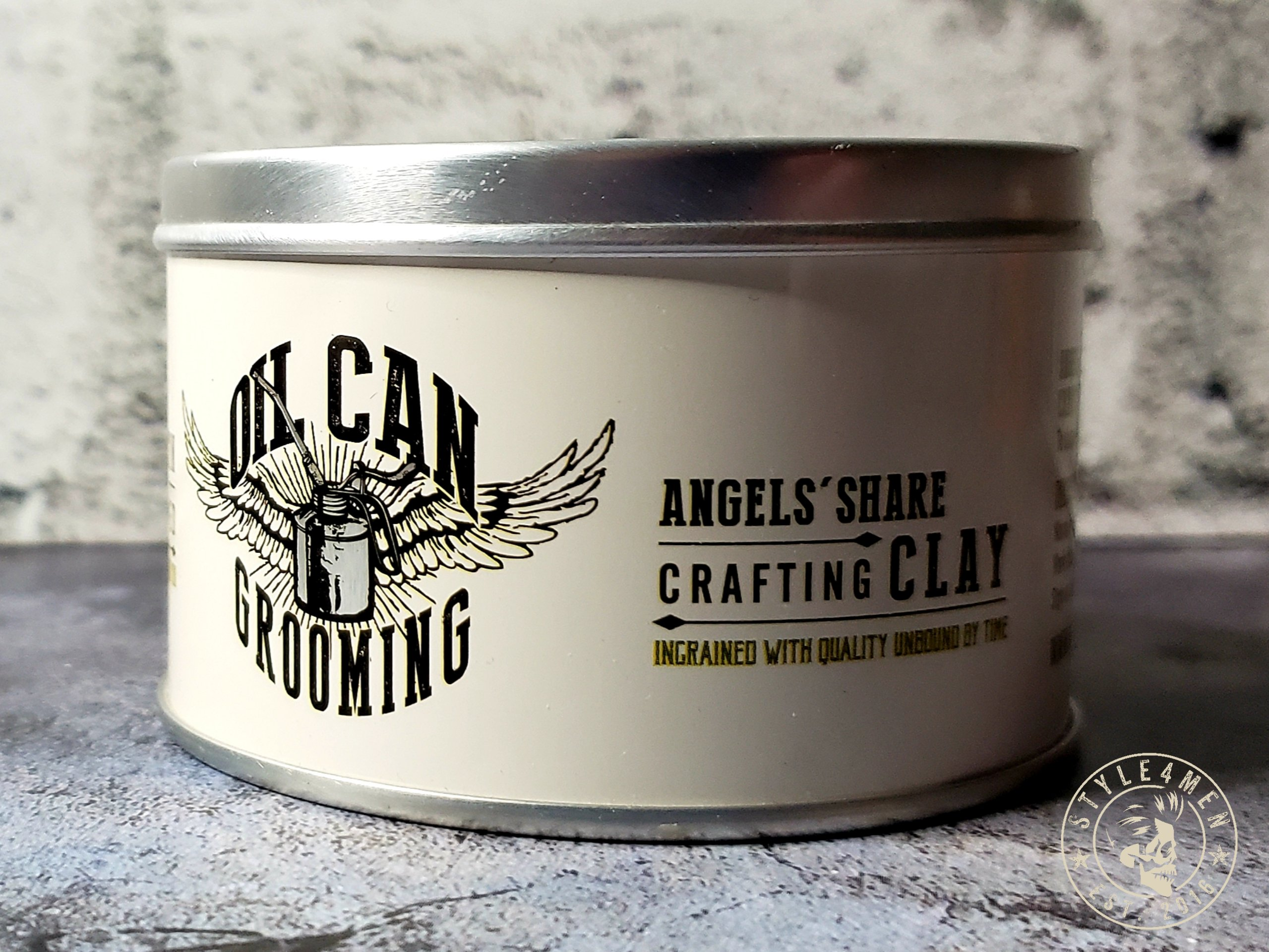 Oil Can Grooming Clay